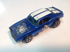 "Original Hot Wheels Redline ""Heavy Chevy"" in Blue Hk clean!"