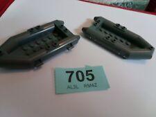 2X Lego 30086 Raft.Dark Bluish Grey sets 7239, 7046, 7625 CITY FIRE CREATOR #705