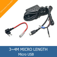 Car Fuse Dash Cam Camera Phone GPS Micro USB Charger Power Box Hard Wire DVR UK