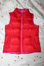HAVE FUN girls super warm padded winter waistcoat age 6-7 years