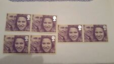 New listingprincess anne and mark phillips stamps