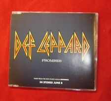 DEF LEPPARD ~ PROMISES / PAPER SIN  US 1999 PROMO 2 TRACK CD SINGLE