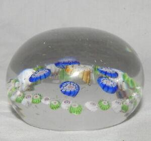 """S} Petit Presse-papier """"Sulfure"""" années 50-60 Cristal de Murano? Paperweights"""