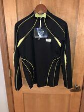 Nwt Gore Running Wear 2.0 Lady Essential Long Sleeve Shirt - Black - Xlarge