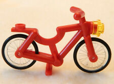 NEW LEGO RED BICYCLE minifigure bike figure minifig 60134 city town