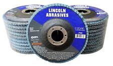 """20 Pack Flap Discs 80 Grit 4.5"""" x 7/8"""" Grinding Sanding Wheels Disc Zirconia T29"""