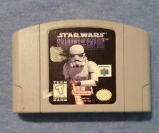 Star Wars Shadows Of The Empire Nintendo 64 N64 Game Cartridge Cleaned Tested