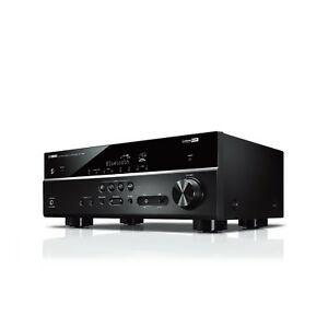 Yamaha RX-V385 5.1ch Home Theatre AV Receiver with Dolby Audio - Black