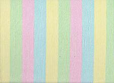 Pastel Striped Seersucker Fabric (x 1.2 metres)