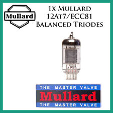 New 1x Mullard 12AT7 / ECC81 | *Balanced Triodes* | One / Single Tube Free Ship