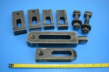 Milling Engineering Clamps x 6 various plus t-nut bolts