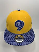 New Era NFL 9FIFTY Blue & Yellow Los Angeles Rams SnapBack Flat Bill, NEW!