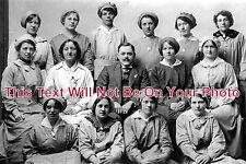 HA 313 - WW1 Munitions Workers, Thornycrofts, Basingstoke, Hampshire - 6x4 Photo