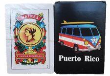 Puerto Rico Flag BRISCA NAIPES BARAJA ESPANOLA 50 SPANISH PLAYING CARDS DECK