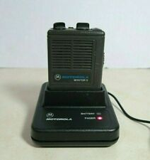 New listing Motorola Minitor Ii Vhf Pager 154.1750 154.0550 with Battery & Charger