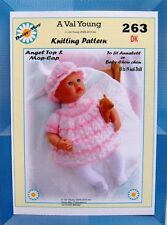 DOLLS KNITTING PATTERN FOR ANNABELL or sim NO 263 BY DAISY-MAY