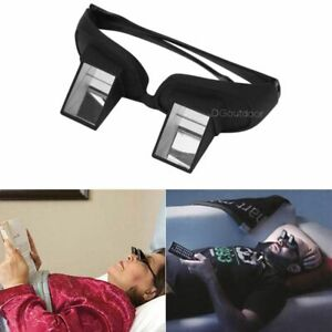 Lying Down Bed Lazy Prism Eye Glasses Periscope Reading Watch TV Horizontal New