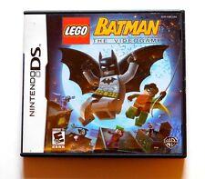 LEGO Batman: The Videogame - Complete w/ Booklet Manual (Nintendo DS, 2008)