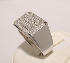 Silver Ring Men High Fashion White Stone Brand New Jewelry Hot Selling