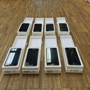 8 Stück! Samsung Galaxy A3 SM-A310F - 16GB - Schwarz Smartphone Defekt