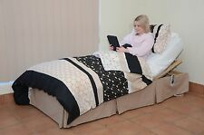 New Electric Adjustable Bed with Memory Foam Mattress