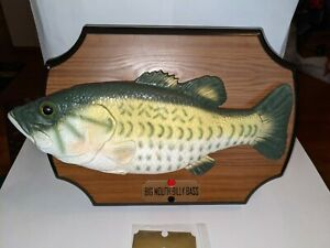 BIG MOUTH BILLY BASS TAKE ME TO THE RIVER/DON'T WORRY-WORKS GREAT!