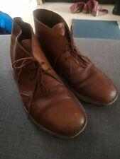 Mens Clarks Originals Desert Boot Brown Vintage Leather UK 9 EU 43