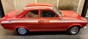 CULT 1973 FORD ESCORT MK1 MEXICO RED SCALE 1.18