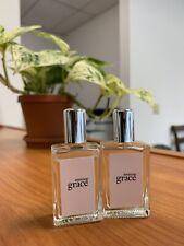 2x Philosophy AMAZING GRACE Perfume Splash Dabber Fragrance .33 oz / Each MINI