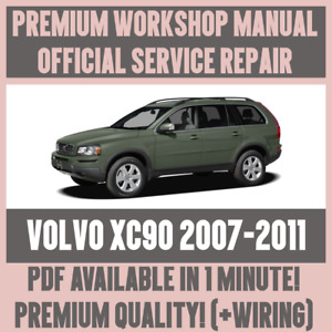 WORKSHOP MANUAL SERVICE & REPAIR GUIDE for VOLVO XC90 2007-2011 +WIRING
