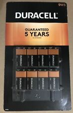 8 Pack. 9 Volt DURACELL BATTERIES new other