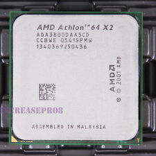 AMD Athlon 64 X2 3800+ ADA3800DAA5CD CPU Processor 1000 MHz 2 GHz Socket 939