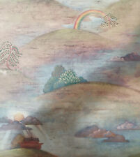 Noahs Ark Wallpaper by Carey Lind York Wallcoverings FA6108