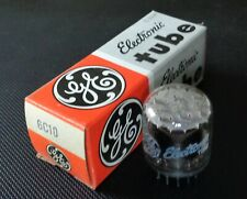 NOS NIB GE 6C10 TUBE TRIPLE TRIODE TUBE MATCHED FENDER CHAMP