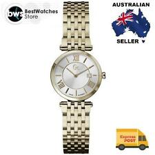 Stainless Steel Band Swiss Made Round Wristwatches