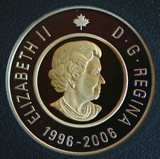 2006 Canada Classic design Toonie from double dollar set -  proof finish