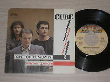 "CUBE - PRINCE OF THE MOMENT / WHY MEN GO INSANE - 45 GIRI 7"" ITALY"