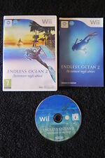 WII : ENDLESS OCEAN 2 : AVVENTURE NEGLI ABISSI - Completo, ITA ! Comp Wii U