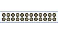 Genuine AJUSA OEM Replacement Valve Stem Seal Set [57051800]