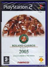 Ps2 Roland Garros Paris 2005 UK PAL & Sony Factory