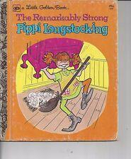 The Remarkably Strong Pippi Longstocking-Little Golden Book