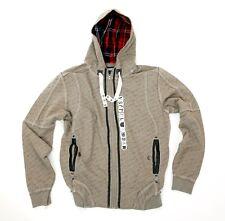 VSCT Single Letters Sweat Jacke Gr. S grau Zipper Zip Hoodie Sweatjacke Sweater
