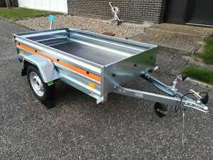 Single axle trailer Temared Eco 2010 200 cm x 106 cm 750 kg
