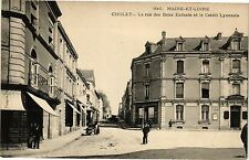 CPA Cholet-La rue des Bons Enfants et le Crédit Lyonnais (189853)