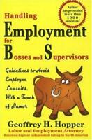 Manejo Employment Para Bosses Y Supervisors: Guidelines para Evitar Employee La