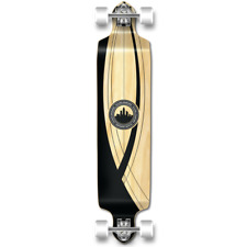 Yocaher Drop Down Crest Onyx Longboard Complete