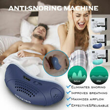 Electric Anti Snoring Electronic Device Sleep Apnea Stop Snore Aid Stopper