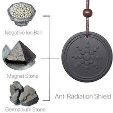 Anti EMF Radiation Protection Pendant Bio Scalar Energy Necklace Tourmaline US