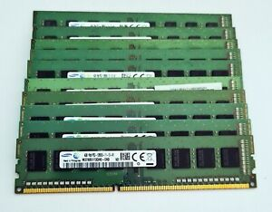 10x4GB DDR3 1600MHz Desktop PC RAM ~ 40GB Job Lot PC3-12800U Memory 1Rx8