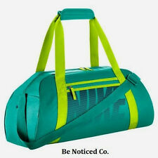 Nike Gym Club Training Duffel Bag Teal Green Back Pack Casual Training New
